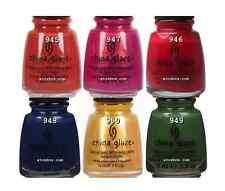 China Glaze Nail Polish ANCHORS AWAY Collection 6 Colors SET 945-950