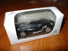 Norev Diecast Metal Model Car GT by Citroen Retail - Black 3 inches collection