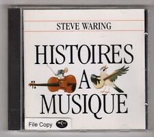 (GZ160) Steve Waring, Histoires A Musique - 1994 CD