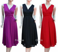 Viscose Cocktail Hand-wash Only Plus Size Dresses for Women