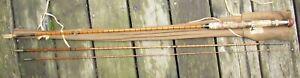 "Nice John Dickson & Son Edinburgh Scotland Fly fishing Rod in Pouch 9' 7"""