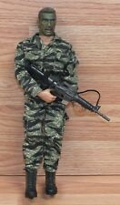 "1998 21st Century Toys 12"" (inch) Camo Face Painted Military Action Figure Doll"