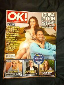OK! Magazine Issue 1270 11/01/21 January 11th 2021 Louisa Lytton Gregg Wallace