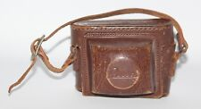 Rokuwa Rocca - Genuine Vintage Brown Leather Ever Ready Camera Case