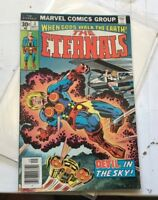 ETERNALS #3 Marvel Comics 1976 1st Sersi Jack Kirby art comic Devil in the Sky!!