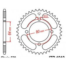 Couronne acier 32 dents yfa 125 breeze 1989-04 Jt sprockets JTR1910.32