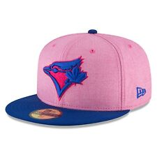 2018 New Era Toronto Blue Jays 59fifty 7 3/8 Cap Hat MLB Mother's Day High Crown