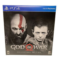 BRAND NEW SEALED! God of War Limited Collector's Edition PlayStation 4 PS4