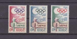 Marokko 1964 - Olympiade Tokio - Satz, postfrisch
