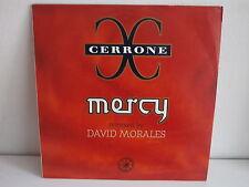 """MAXI 12"""" CERRONE Mercy DAVID MORALES 8818366"""