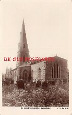LEICESTERSHIRE - GADDESBY, St. Lukes Church. Real Photo Postcard