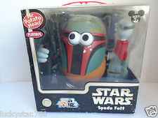 2007 Star Wars Mr. Potato Head Boba Fett Star Tours Disney Theme Park
