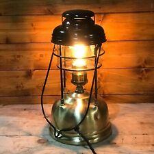1950's Vintage Tilley Guardsman Electric Conversion Edison Lamp Black Hood