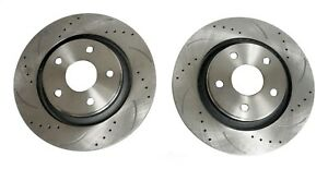 FIT 2008-2018 WRANGLER 13.09 INCH HIGH PERFORMANCE OFFROAD RT FRONT BRAKE ROTORS