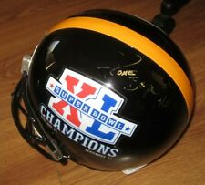 Jerome Bettis autographed signed Steelers Super Bowl 40 Champs full size helmet