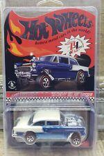 Hot Wheels RLC Membership 55 Chevy Bel-Air Gasser *NIB* Blue
