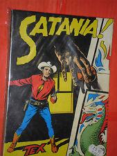 collana TEX GIGANTE da LIRE 350 di COPERTINA N°5 -a-satania NO SPILLATO del 1964