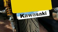 KAWASAKI Z1000 NUMBER PLATE EMBLEM BADGE MIRROR POLISHED STAINLESS STEEL NP003