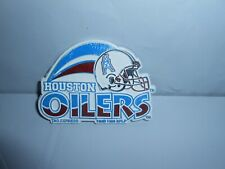 VTG 1996 HOUSTON OILERS NFL FOOTBALL TAG EXPRESS RUBBER STANDING BOARD MAGNET