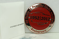 Porsche 911 901 993 964 997 Grill Badge Plakette 60 Years Clubs worldwide Museum