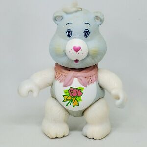 Vintage Care Bears Grams Bear Poseable Figure 1984 Kenner Grandmother Grandma