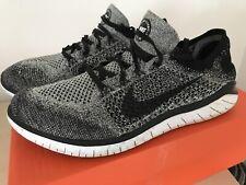 Nike Free Run 2018 Flyknit Oreo Trainers Sz 10 UK