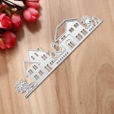 House Buildings Metal Cutting Dies Stencil Scrapbooking Embossing DIY Crafts Hot