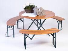 Sets de muebles de jardín de color principal marrón