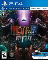 PLAYSTATION 4 PS4 VIDEO GAME TETRIS EFFECT BRAND NEW AND SEALED