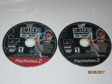 Playstation 2 - WWE SmackDown - Black Label Greatest Hits Variants - Disc Only