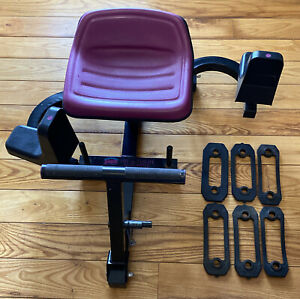 Body By Jake Hip & Thigh Machine In Home Trainer Legs Glutes With Bands