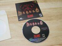 Diablo 1 (PC, Win95, Blizzard Entertainment, 1996) Disk only