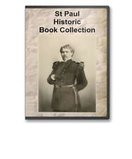 St. Paul, MN Minnesota History Culture Biography Genealogy 8 Book Set - D53