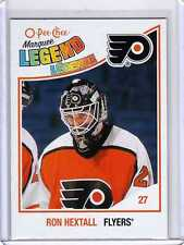 RON HEXTALL 10/11 OPC O-Pee-Chee High # LEGEND SP #585 Hockey Card
