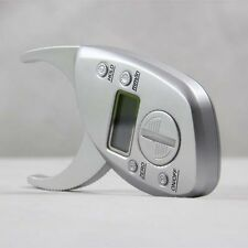 Body Fat Caliper Digital Skin Muscle Tester Fitness Gym Weight Management System