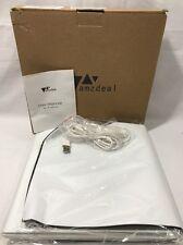 Amzdeal Table Top Folding Photo Studio Shooting Tent White Photograhpy Light Kit