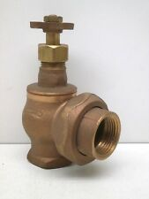 "Champion 300-100 Irrigation/Sprinkler One-Inch 1"" Manual Angle Valve - Brass"