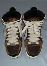 DADA SUPREME Old School Men's Shoes Brown White - Size 6 - Excellent Condition