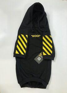 Off-White Dog Hoodie Woof SZ. L