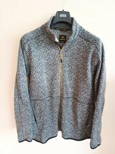 Moberg Men's Fleece Jacket/Coat XL. Quality Outdoor Clothing Grey