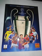 PANINI  ALBUM STICKER CHAMPION LEAGUE 2011-2012