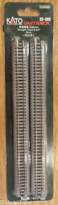 """Kato #20-000 Straight Track (9 3/4"""") 248mm 4pcs Unitrack"""