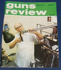 GUNS REVIEW MAGAZINE AUGUST 1981 - THE VALMEL 412 SHOOTING SYSTEM