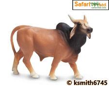 Safari BRAHMA BULL solid plastic toy farm pet brown animal cow Brahman * NEW *💥