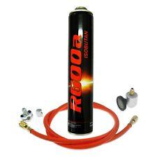 More details for r600a refrigerant gas charging connection kit hose line tap tube piercing valve