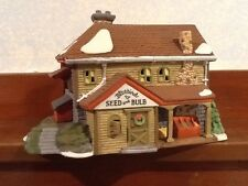 Dept 56 New England Village - Bluebird Seed And Bulb - #56421 - Euc