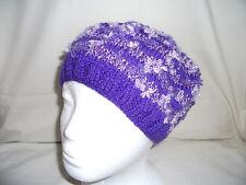 Hand-knitted Beanie/Berretto Cappello Stile ref 892