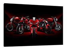 Colección de Ducati 30x20 pulgadas lienzo enmarcado cuadro Póster de impresión