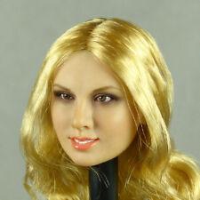 1/6 Phicen, Hot Stuff, Kumik, Flirty Girl - Female Blonde Long Hair Head Sculpt
