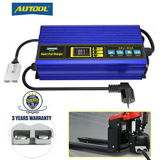 More details for forklift battery charger 24v 30a automatic truck smart fast charger for golf car